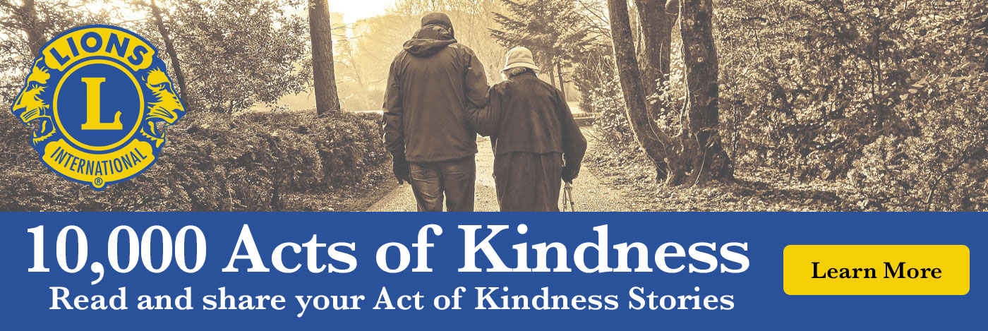 Acts of Kindness - Bellingham Central Lions Club